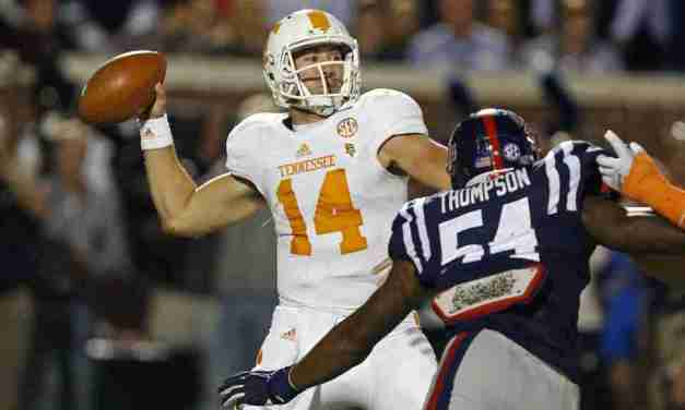 No. 3 Ole Miss downs Tennessee 34-3