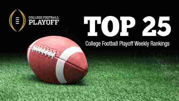College Football Playoff Rankings: Week 2