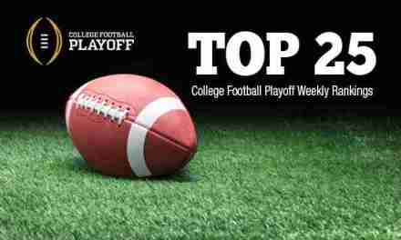 College Football Playoff Top 25 Rankings: Dec. 7