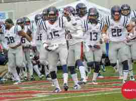 Rebels take the field