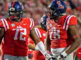 Aaron Morris and Laremy Tunsil