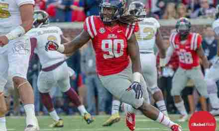 Shooting victim is 'father figure' to Ole Miss DE Fadol Brown