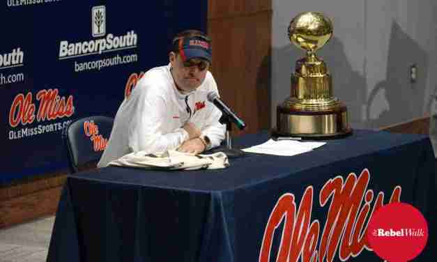 Giving thanks for Coach Hugh Freeze