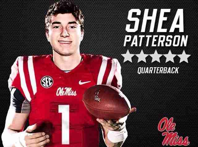 Five-star QB Patterson paves way for Ole Miss future