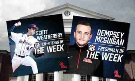 Ole Miss athletes Weathersby, McGuigan honored by SEC