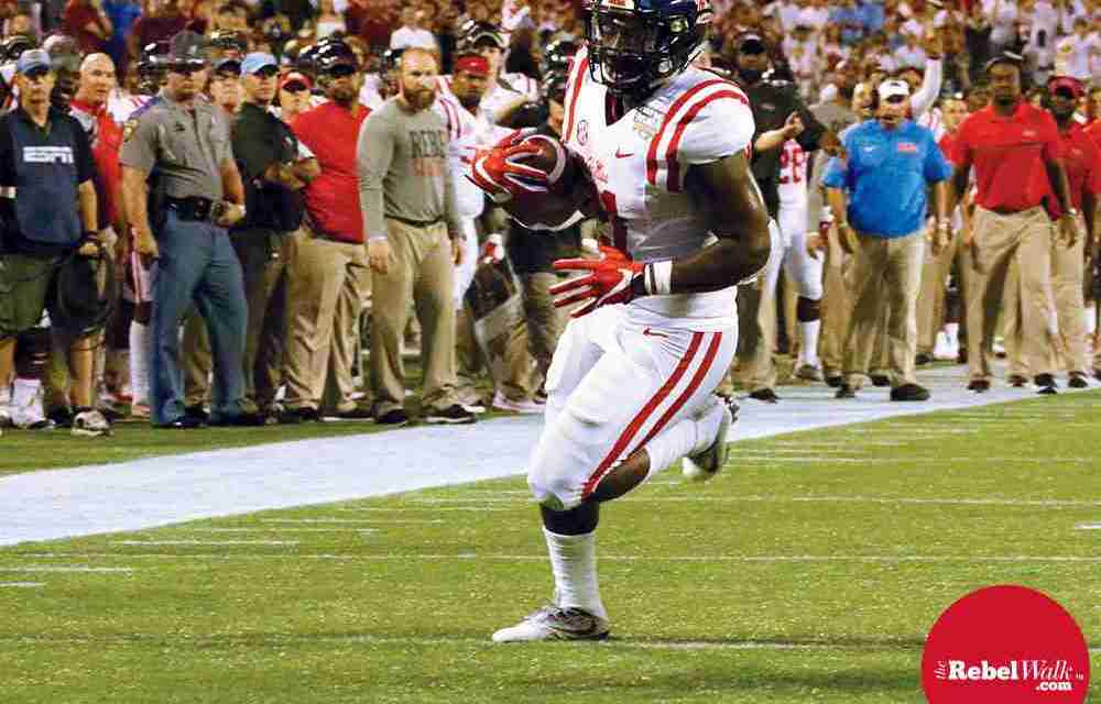 Rebels' offensive coordinator Dan Werner likes what he sees from the running backs