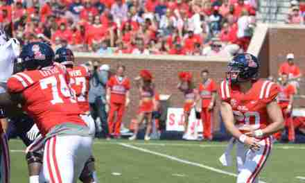 Rebels' offensive coordinator Phil Longo pleased with Shea Patterson's decision-making