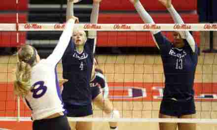 Clair and Edie receive weekly awards from SEC after Rebels win Magnolia Invitational