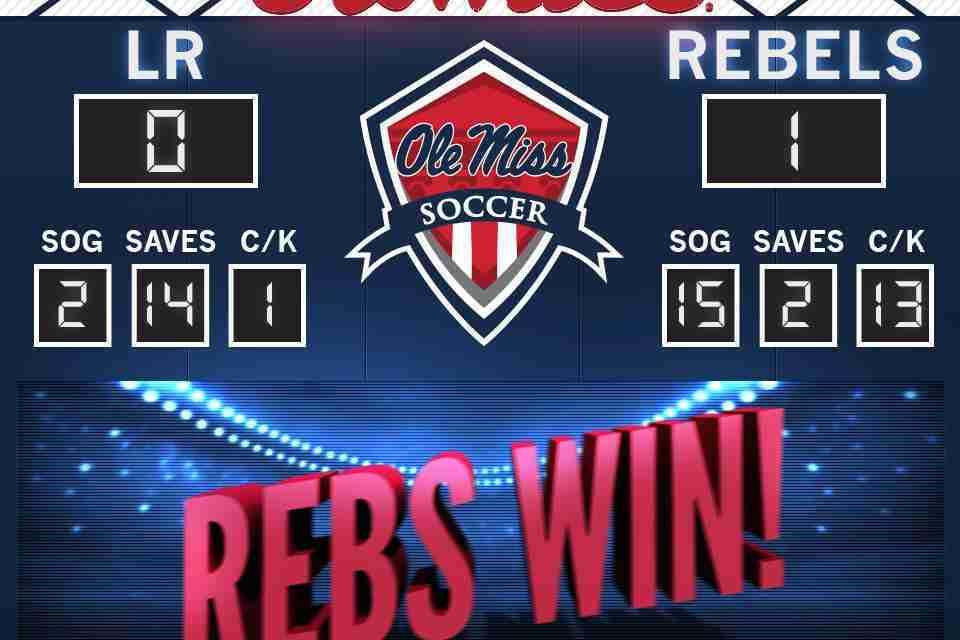 Kizer's goal in overtime leads Rebels past UALR