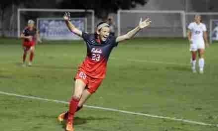 Kizer having fun, finding success in her freshman season for Ole Miss Soccer