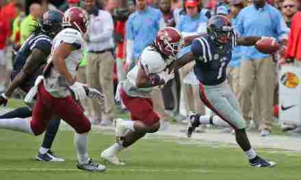 Kelly scores 4 touchdowns as No. 14 Ole Miss rolls over New Mexico State, 52-3
