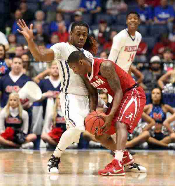 Ole Miss loses to Alabama 81-73 in second round of SEC Tourney