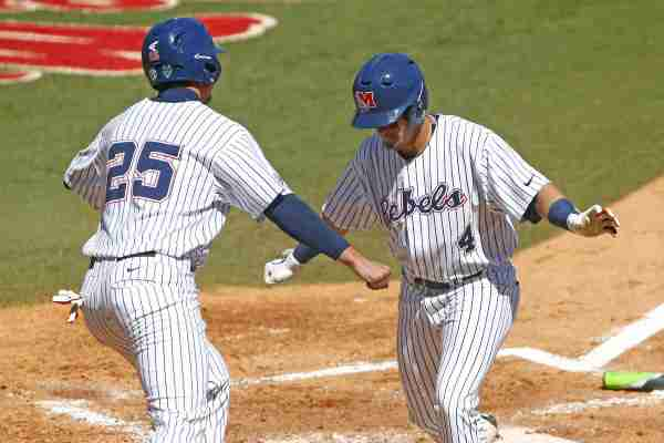 No. 6 Ole Miss powers past UT-Martin 8-2 for 20th win of season