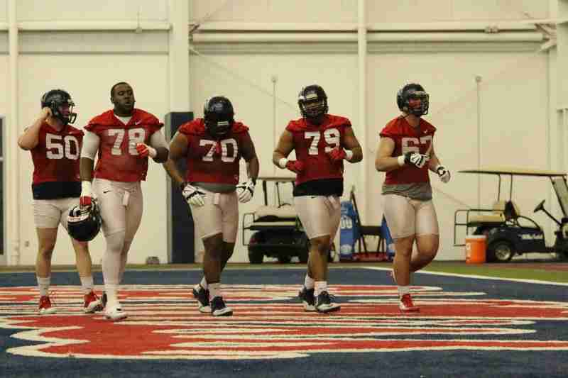 Rawlings and Liggins add versatility to Ole Miss offensive line