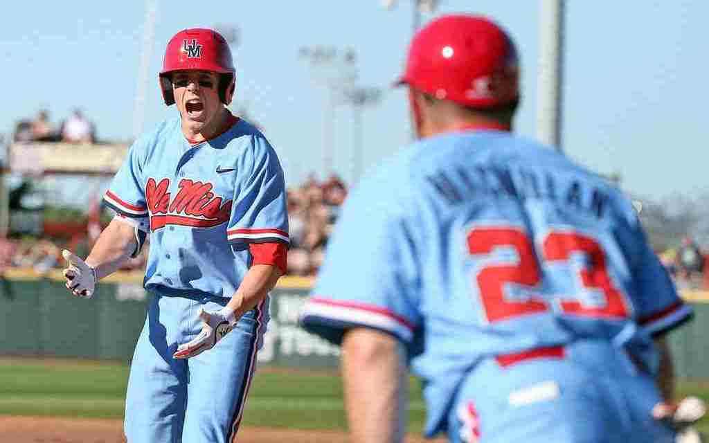 No. 11 Ole Miss finds its offense and defeats No. 5 Mississippi State 8-5