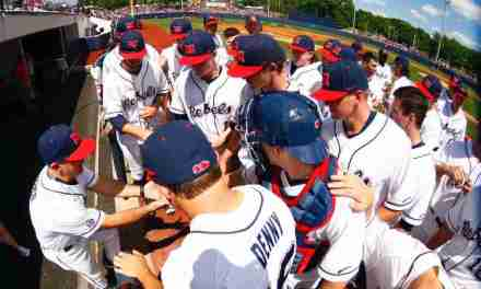 No. 14 Ole Miss defeats Auburn 7-4 to clinch series and pick up 4th straight win