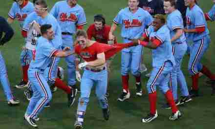 Lartigue's walk-off homer gives No. 6 Ole Miss the sweep over Kentucky