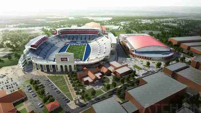 Vaught-Hemingway renovations will further enhance game day atmosphere at Ole Miss