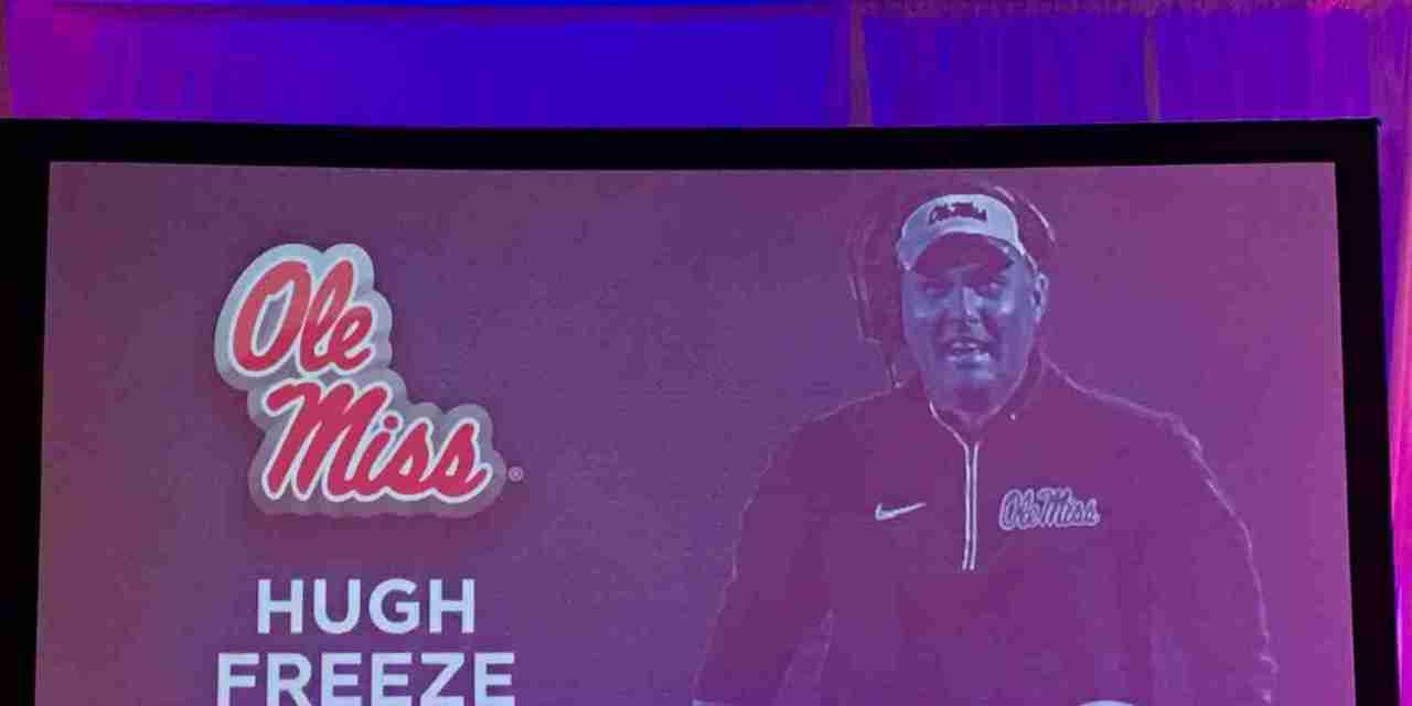 Ole Miss Head Coach Hugh Freeze at SEC Media Days: Complete Transcript