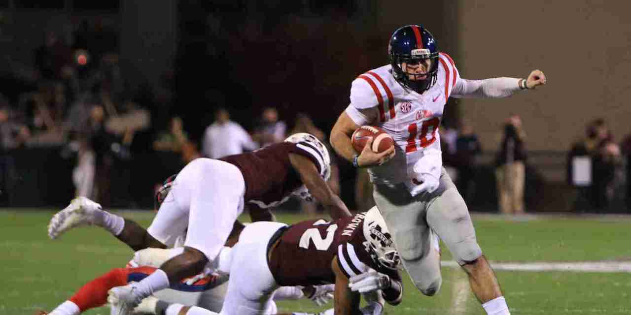 Rebels' QB Chad Kelly named to the Manning Award Watch List