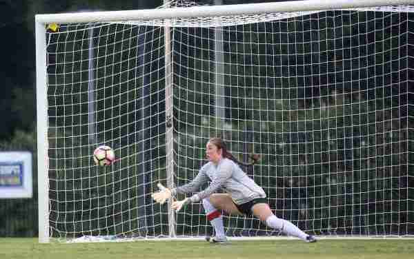 Rebels' goalkeeper Marnie Merritt named SEC Defensive Player of the Week