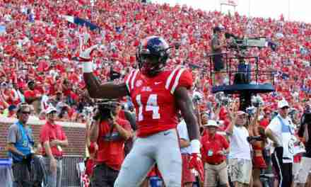 Ole Miss loses WR D.K. Metcalf for the season due to neck injury