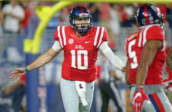 Kelly says loss to Auburn hurt, but Rebels moving forward in preparation for Georgia Southern