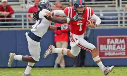 Jason Pellerin prepared to lead Rebels' offense if Kelly sidelined with injury