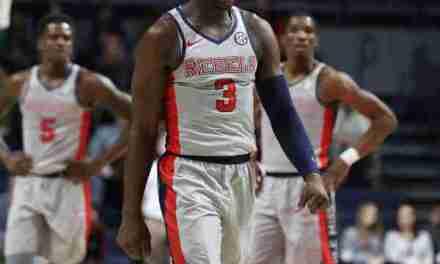 Rebels' Terence Davis sees hard work pay off in sophomore season