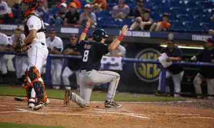Rebels drop close game to No. 20 Auburn in SEC tourney, now await postseason fate