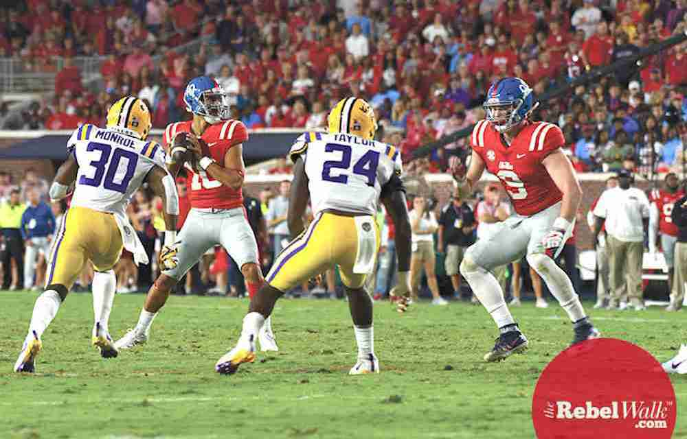 Ole Miss aims to get back on track with Ta'amu under center