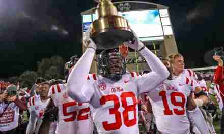 Refusing to give up, Ole Miss defeats No. 16 Mississippi State 31-28 and brings Egg Bowl Trophy back to Oxford