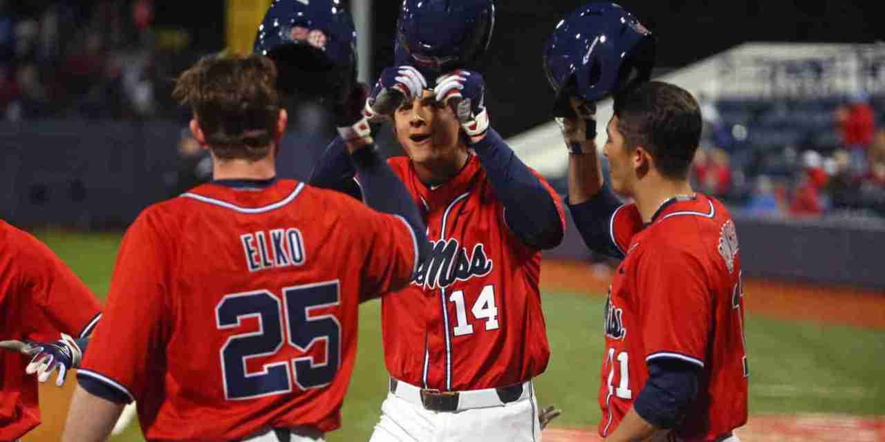 No. 9 Ole Miss cruises to series win over Winthrop, will go for sweep Sunday