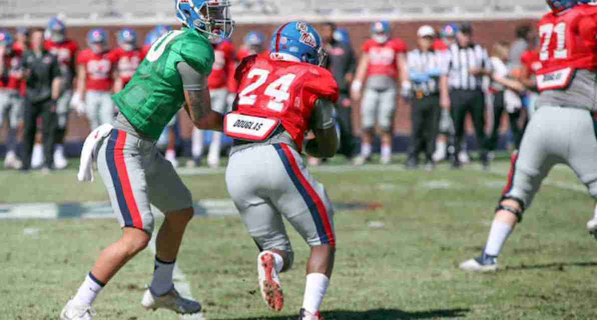Ole Miss running back Eric Swinney healthy, embracing leadership role