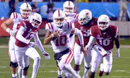 Ta'amu leads Rebels on 97-yard, game-winning drive as Ole Miss defeats Arkansas, 37-33