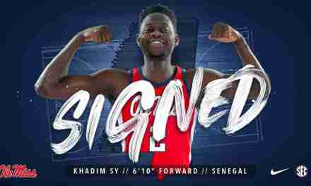 Khadim Sy Signs with Ole Miss Hoops