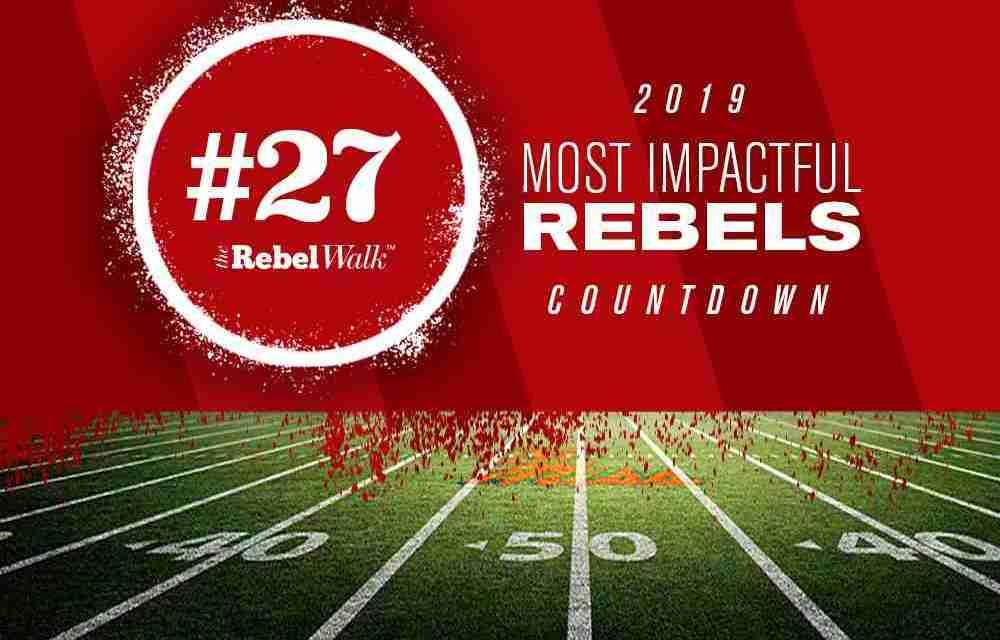 Most Impactful Rebels for 2019: No. 27 Octavious Cooley