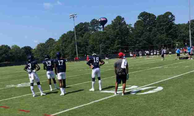 News and Notes from Monday's Ole Miss Practice