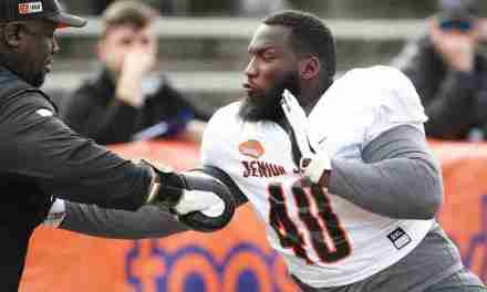 Josiah Coatney taking advantage of Senior Bowl showcase