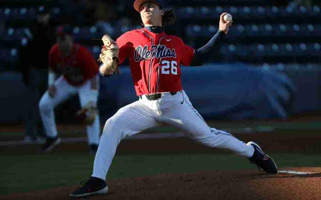 Ole Miss Begins Season with Three of the Nation's Best Pitchers
