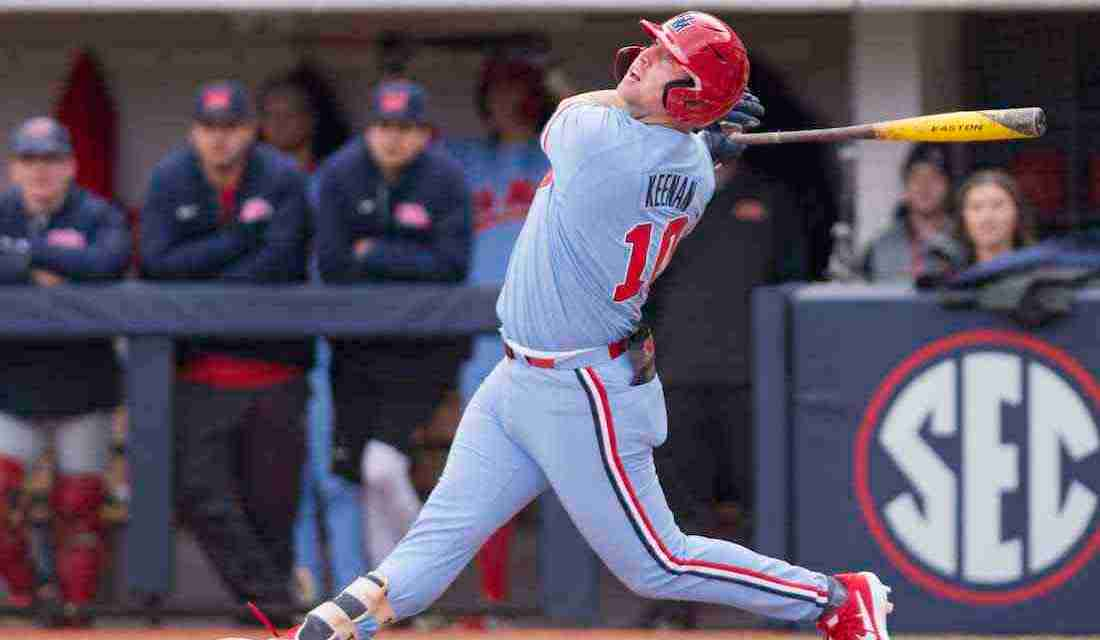 Ole Miss junior Tyler Keenan named SEC Co-Player of the Week