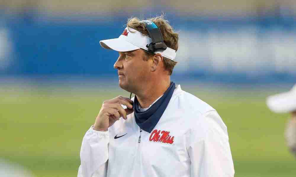 WATCH: Coach Kiffin discusses Rebels' suspension of team activities Wednesday due to COVID-19