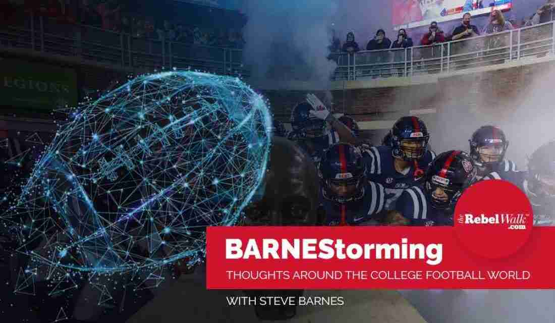 BARNEStorming: Thoughts Around the College Football World