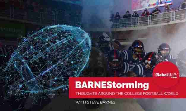 BARNEStorming: Another Bye for Rebs and other Thoughts Around the College Football World