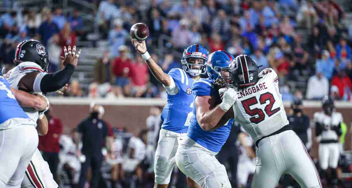 Ole Miss Set to Open 2021 Season in Chick-fil-A Kickoff Game vs. Louisville