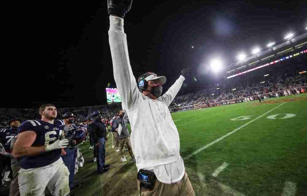 WATCH: Ole Miss head coach Lane Kiffin talks Rebels' 31-24 Egg Bowl victory