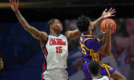 Rebels fall to Tigers, 61-75