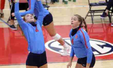 Volleyball Spring Match Times Set