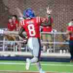 Elijah Moore Shines on Ole Miss Pro Day