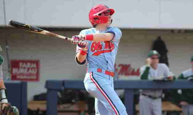 Rebels' left fielder Kevin Graham excited to start against nation's best
